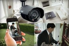 Wireless home security systems Outdoor Home Security Cameras, Cctv Security Cameras, Security Camera System, Home Security Alarm, Best Home Security, Wireless Home Security Systems, House Security, Security Gadgets, Home Video Surveillance