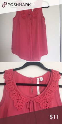 LC Lauren Conrad -- Mauve sleeveless blouse Another cute work shirt that layers really nicely. It is new with tags. It's 100% polyester. The hem is curved. Look at that lovely neckline! Yet again, it no longer fits me, so make it yours. LC Lauren Conrad Tops Blouses