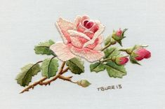 Miniature Needle Painting Book « Trish Burr Embroidery