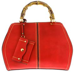 TERESA RED WOMEN'S HANDBAG ONLY $19.88