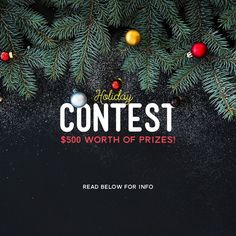 Holiday Design Contest! Calling all typographers designers and photographers! Were giving away $500 prizes to 9 winners. $300 to first place and $25 iTunes or Play Store gift cards to the 8 runner ups! To Enter:  1.Design a holiday themed edit (picture or video) using PicLab PicLab HD (@piclab_hd) or VidLab (@vidlabapp) Get creative! Make use of the our great text tools artwork and more. 2.Post your photo or video with the tag #PicLabHoliday 3.Thats it! Well announce the winners the day…