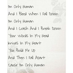 Human-Christina Perri..I love this song Song Lyrics <3 ❤ liked on Polyvore featuring quotes, words, text, fillers, phrase and saying