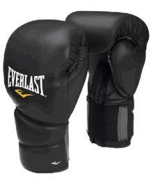Everlast Protex  Training Gloves  Size -12oz  Color-Black