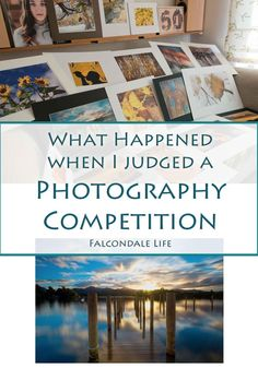 What Happened When I Judged a Photography Competition on Falcondale Life blog. Some of the prints from the contest. Why the winning photo was so good and what makes a good competition winning photograph.