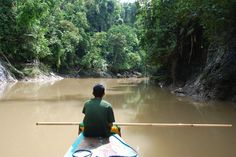 Heading up the Adgawan River to begin life changing projects with Just Projects International - Project: AK47
