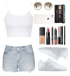 """""""NoName#39"""" by eaton05 ❤ liked on Polyvore featuring Topshop, NIKE, NARS Cosmetics, Prada, women's clothing, women's fashion, women, female, woman and misses"""