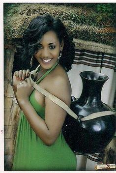 Oromo woman, Oromia, East Africa Beautiful