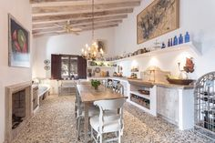 Rustic contemporary kitchen, by Moredesign.es