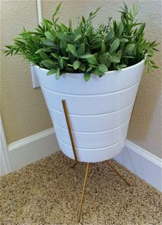 """Search Results for """"planter"""" – Hepcats Haven Planter Table, Planter Pots, Ceramic Table, House Plants, White Ceramics, Restoration, Mid Century, Indoor, Flooring"""