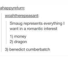 Smaug is bae