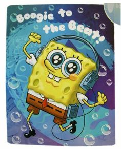 "Nickelodeon Micro Sherpa Boogie to the Beat Spongebob Throw - Spongebob Squarepants Blanket by Nick Jr.. $39.99. 100% Polyester. Great for bedrooms, living rooms, getting warm or decoration!. Measures 58"" x 78"". Spongebob is getting his boogie on with this cozy micro sherpa throw!"