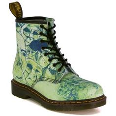 Doc Martens. Want is this design, I can't quite make it out.