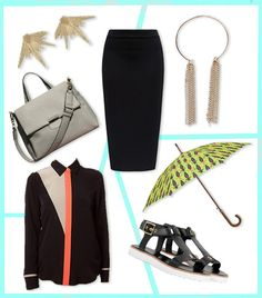 Pencil Skirt Outfit_What To Wear In Monsoon_Hauterfly