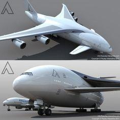 Monster Jumbo Aircraft 5