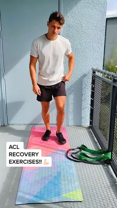 Acl Tear Recovery, Acl Surgery Recovery, Knee Injury Workout, Meniscus Surgery, Knee Tendonitis, Senior Workout, Acl Rehab, Acl Knee, Physical Therapy Exercises