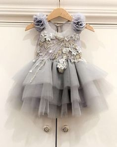 """Our new """"My Eternal Love"""" baby dress is so stunning 🌸 available in many other… - Babykleidung Gowns For Girls, Little Dresses, Little Girl Dresses, Girls Dresses, Flower Girl Dresses, Toddler Dress, Baby Dress, Robes Tutu, Kids Gown"""