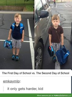 Just 12 more years kid...