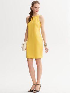 Banana Republic yellow dress