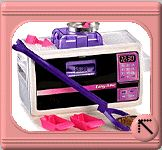 Easy Bake Oven Recipes - this site has TONS of recipes that you can use to make stuff in the Easy Bake - those little mixes are expensive!
