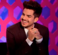 Adam Lambert - Awww that smile <3