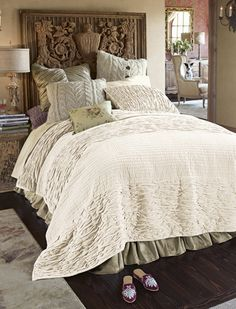 bedding idea from Soft Surroundings
