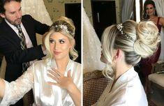 Girl Hairstyles, Wedding Hairstyles, Bridal Veils And Headpieces, Dream Wedding, Wedding Day, Dream Hair, Bridal Beauty, How To Make Hair, Bridal Looks