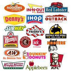 restaurant logos | ... some of the famous classic restaurant logo designs for your viewing