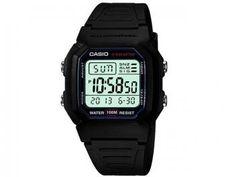 Relógio Masculino Casio Mundial W-800H-1AVDF - Digital Resistente à Água Calendário