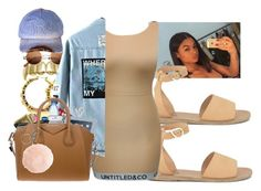 """WIth Babe Todai"" by slayzhane ❤ liked on Polyvore featuring Ancient Greek Sandals, Untitled & Co, Fergie, Roque, H&M and True Religion"