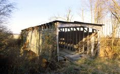 Parks Covered Bridge in Obion County, Tennessee.