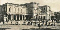 Museu Ferroviário Virtual - Estação central do Rio de Janeiro. Início do Séc. XX.