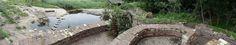 Natuurrijke speelruïne bij Natuurmonumenten in 's-Gravenland. Ontwerp en aanleg Buro Buiten Ruimte