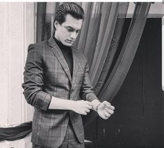 Styled by - pic courtesy - Indian Show, Kaira Yrkkh, Mohsin Khan, Cutest Couple Ever, My Man, Cute Couples, Suit Jacket, Men Casual, Tvs