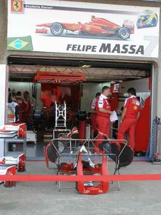 Felipe Massa Garage 2010 Canadian GP Pit Lane (Photo by: Jose Romero Lopez)
