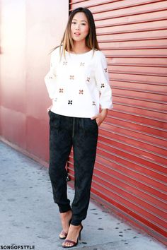 Street Style Favourite: 24 Joggers   sheerluxe.com