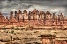 Visit the Needles District of Canyonlands National Park.