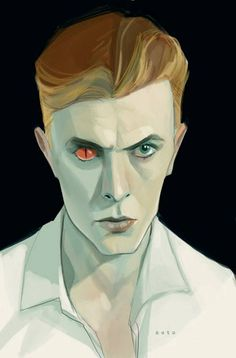 """Bowie"" by Phil Noto*   • Blog/Website 