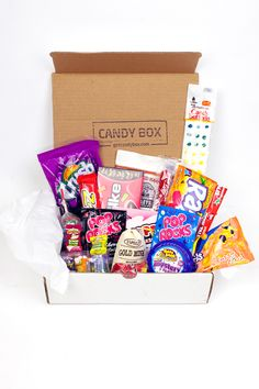 Candy Box - July 2015 #candybox #getcandybox #candy #subscriptionbox #subscription #cratejoy