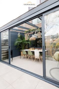 Backyard Patio Designs, Pergola Designs, Backyard Landscaping, Veranda Magazine, Outdoor Retreat, Outdoor Living, Outdoor Decor, Concrete Patio, Interior And Exterior