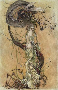 'Purtiy Breathes A Slow Poison' by Jeremy Hush.