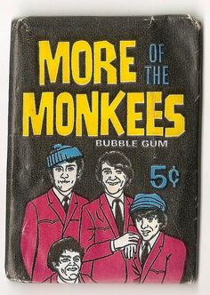 front of monkees sealed bubblegum cards | Flickr - Photo Sharing!