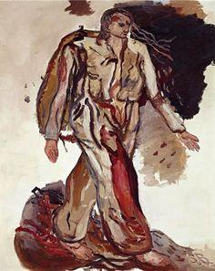 Baselitz, Georg (1938- ) - 1965 Bonjour Monsieur Courbet (Sotheby's New York, 2008)