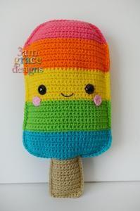 Popsicle Kawaii Cuddler™ Crochet Pattern
