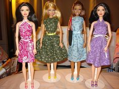 4 piece Barbie Doll clothing gift set with by KelleysKreationsLV, $26.95