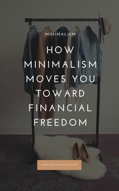 How Minimalism Moves You Toward Financial Freedom Minimalist living is a pathway to financial freedom. If you're looking to get control of your money, here's how embracing a minimalist lifestyle will help. Minimalist Lifestyle, Minimalist Decor, Minimalist Quotes, Minimalist Wardrobe, Modern Minimalist, Minimal Living, Simple Living, Becoming Minimalist, Planning Budget