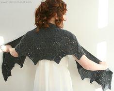 a knitting bear...: Scialle Snowflake - Traduzione