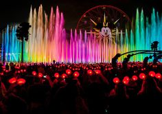 World of Color is a fountain-based nighttime spectacular at Disney California Adventure (Disneyland Resort). Since the show debuted in the best World.