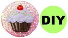 Cupcake Polymer Clay Dessert Tutorial