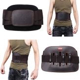Wholesale JIAHE Leather Lumbar Back Support Belt Spine Correction Brace