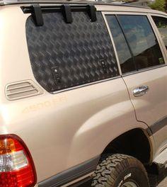 EmuWing 100 Series swing up cargo window Landcruiser 100, Toyota Land Cruiser 100, Cruiser Car, Toyota Lc, Chevy Van, Off Road Camper, Nissan Patrol, Nissan Pathfinder, Truck Camping